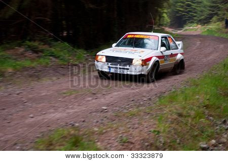 M. Sheedy Driving Ford Escort