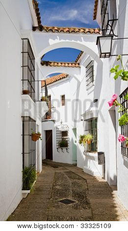 Street Andalusia in Poble Espanyol, Barcelona