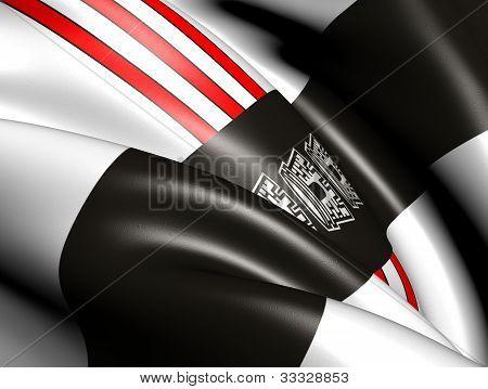Joao Pessoa Flag, Brazil.