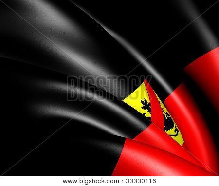 Flag Of Namur, Belgium.