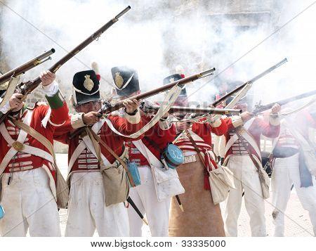 historic british soldiers