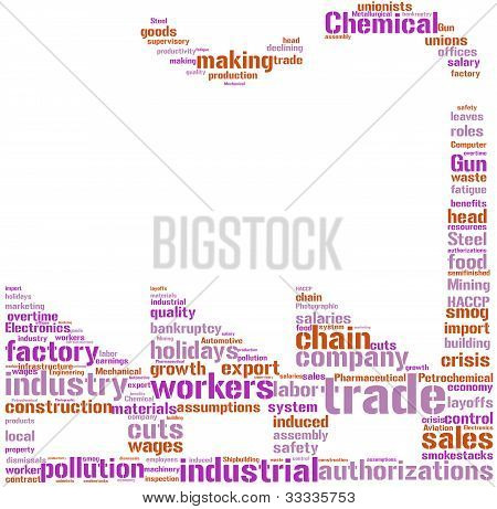 factory tag cloud