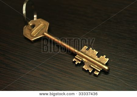 The key to the apartment