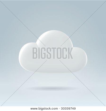 Pure Clean White Plastic Cloud