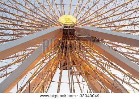 Detail Of Large Ferris Wheel