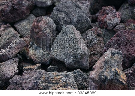 Lava Rocks, Big Island , Hawaii