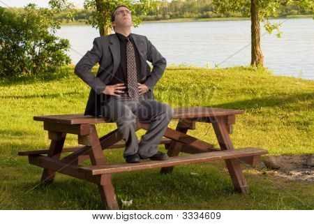 Businessman Relaxation
