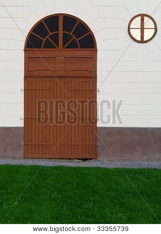 Barn Doors And Window