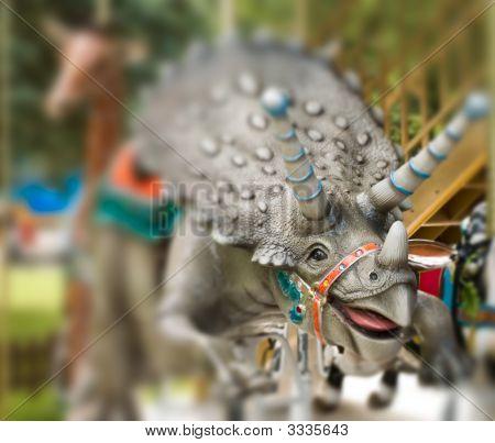 Smiling Carousel Rhino