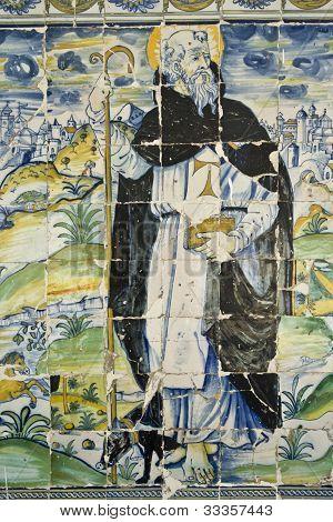 Azulejos de la Basílica del Prado de Talavera, Toledo