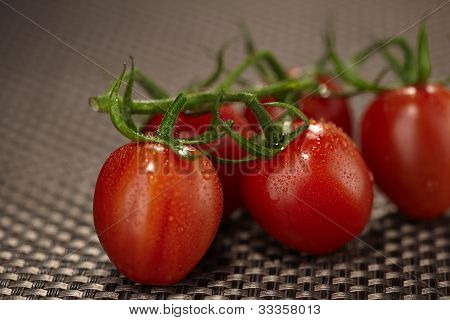 Couple Of Cherry Tomatoes