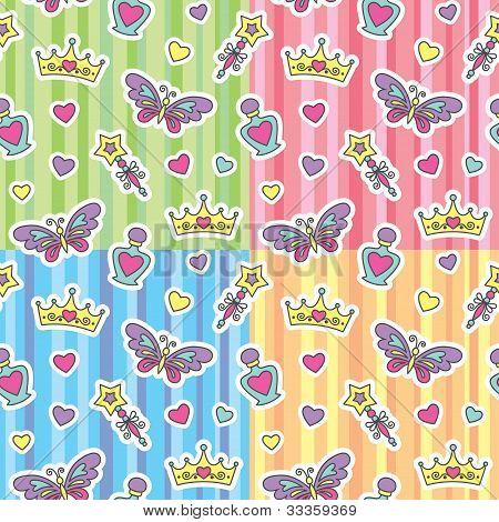 princess patterns set