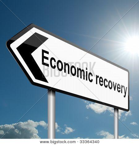 Economic Recovery Concept.