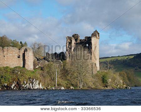 Urquhart Castle, Schottland.
