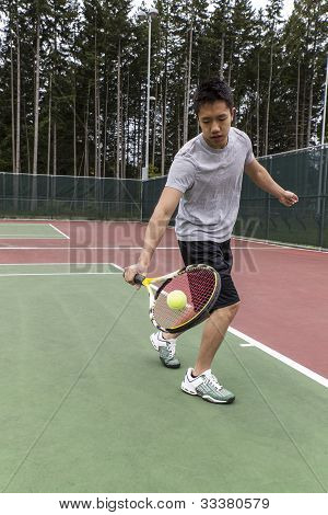 Tennis Single Handed Backhand