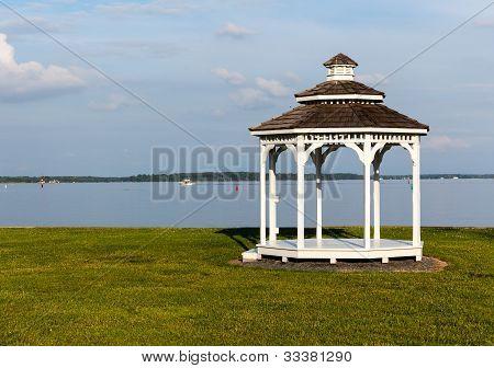 Gazebo By Chesapeake Bay