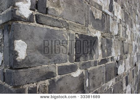 Landhaus old Brick wall
