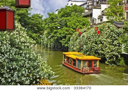 Riverboat in Nanjing, China