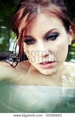Beautiful Woman, Close Up