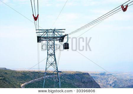 Ropeway In Armenia