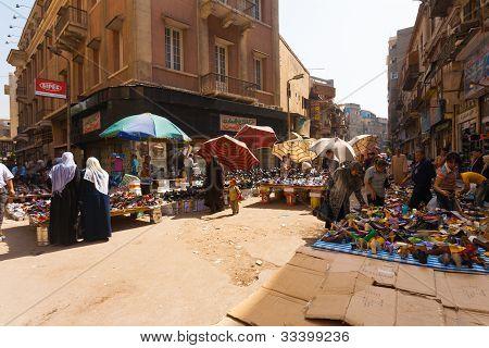 Cairo Street markt vrouwen schoen