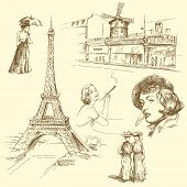 picture of moulin rouge  - paris - JPG