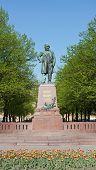 stock photo of sankt-peterburg  - Monument to composer Glinka in Sankt - JPG