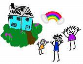 Happy Home & Family Life
