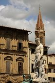 picture of caucus  - A mirable sculputure in the italian open air of Tuscany - JPG