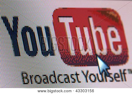 Brussel - maart 13: Lanceert Youtube A Collaborative een collaboratieve online video opstarten