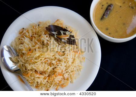 Daal &  Rice - Indian Meal