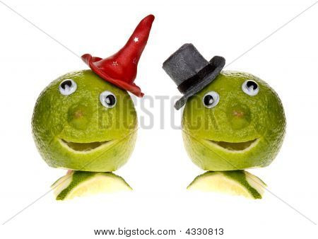 Lime With Top Hat