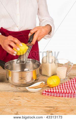 Lemon On The Rasp