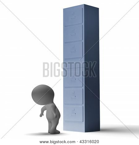 High Filing Cabinet Meaning Overworked And Overloaded