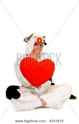 Valentine Cow