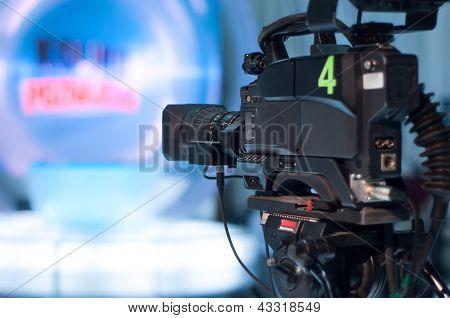 TV-Studio-Kamera
