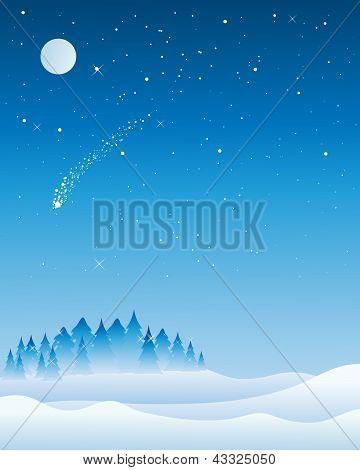 Christmas Tree Skyline