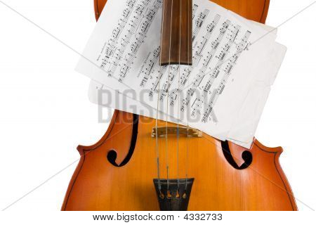 Cello With Notes