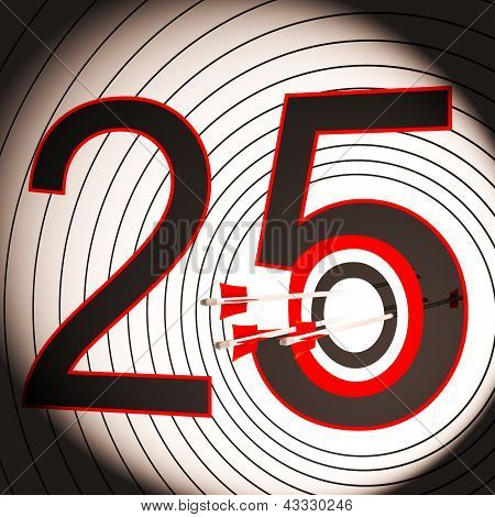 25 Target Shows 25Th Anniversary