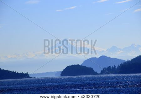 Mountains In The Inland Passage