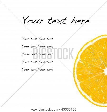 The Recipe With An Orange, A Lemon