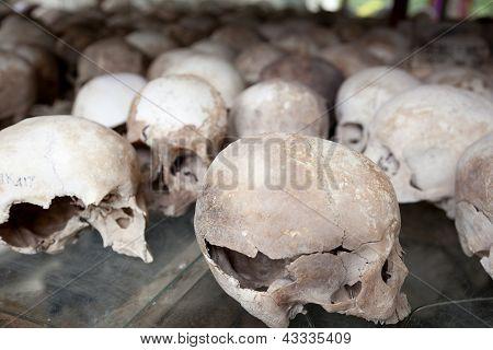 Extermination Camps. Choeung Ek