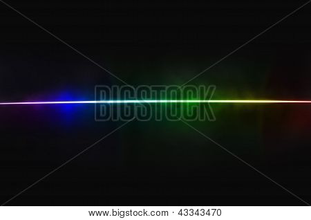 Abstract Background - Light Dispersion