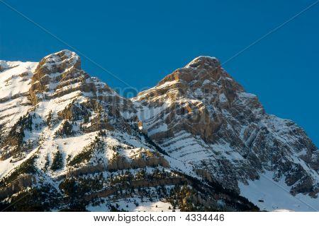 Mountains Of Valle De Tena