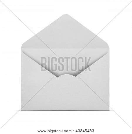 Blank Envelope With Clipping Path