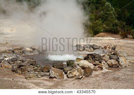 Fumarole Thermal Springs
