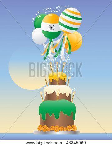 India Celebration Cake