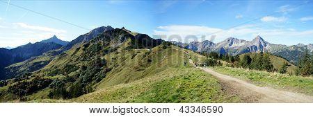 The Saalfeld-High-Mountains-Trail in Tyrol, Austria