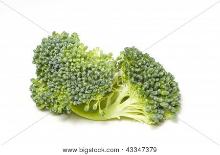 Brocolli Close-up