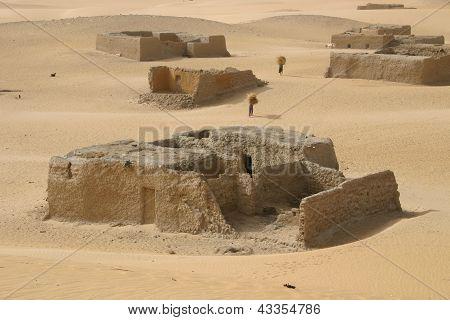 Foreign Legion Outpost, Sahara Desert, Mali